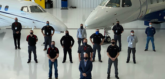 West Star Aviation has boosted hangar space for its Embraer programme in Chattanooga, Tennessee