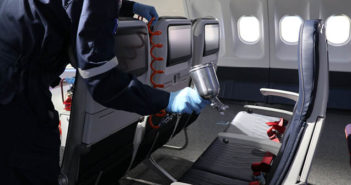 ST Engineering has launched a new antimicrobial coating solution for aircraft cabins
