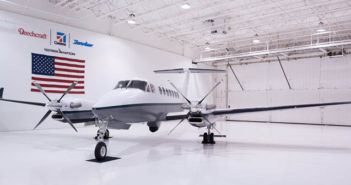 The special-mission Beechcraft King Air 350i