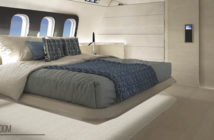 Massari Design's BBJ 737 concept includes an aft bedroom