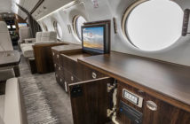 Duncan Aviation transformed the interior, exterior and flight deck of this G550
