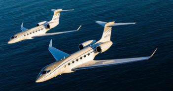 Gulfstream has made the 100th customer delivery for its G500 and G600 programme