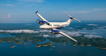 The Beechcraft King Air 260 twin turboprop