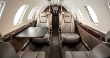 The Citation CJ4 Gen2 interior