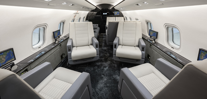 FAI Technik recently refurbished this Challenger 604 at its headquarters in Nuremberg, Germany