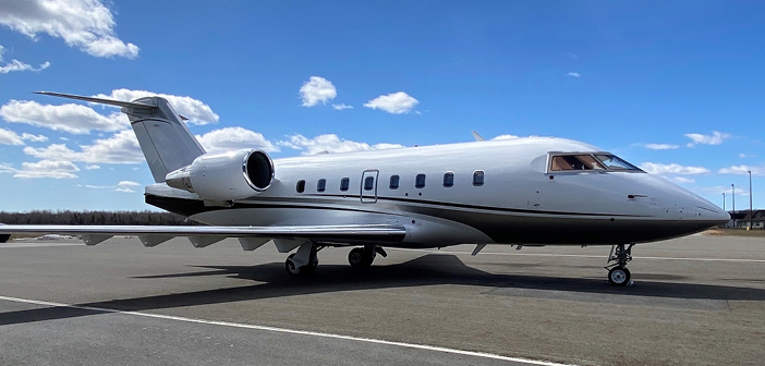 Flying Colours is installing its first Ka-band system on a Bombardier Challenger 604