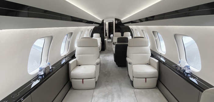 The Global 7500 can accommodate up to 17 passengers