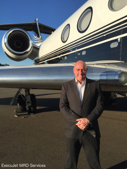 Grant Ingall, regional vice president for Australasia at ExecuJet MRO Services