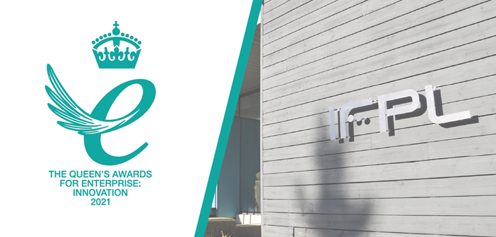 IFPL won a 2021 Queen's Award for Enterprise, in the Innovation category