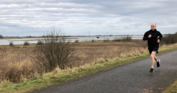 Lee Whitton, head of sustainability at ELeather, ran his commute from 1-22 April