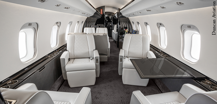 A Global Express XRS completed by Duncan Aviation