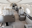 The first fully outfitted Gulfstream G700 interior