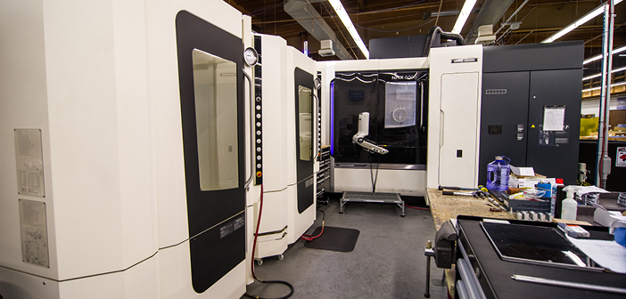 Jamco America's machine shop is now available for contract aerospace projects