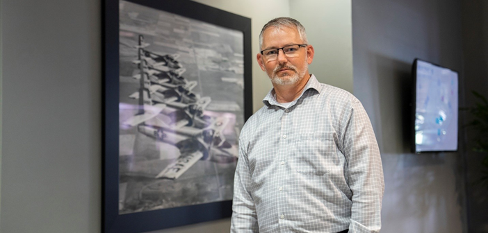 Jim Noel, USAF veteran and programme manager for Textron Aviation Defense