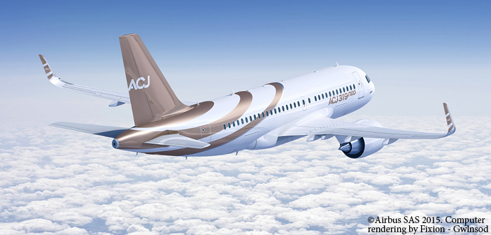 The ACJ319neo is part of the ACJ320neo family of corporate jets