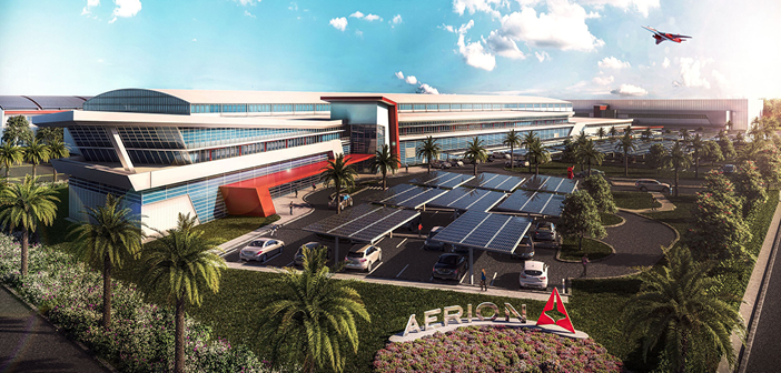 Aerion Park, Aerion's planned new headquarters