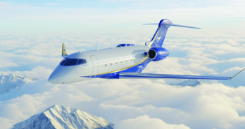 Airshare has ordered three Bombardier Challenger 350 aircraft, with options for 17 more