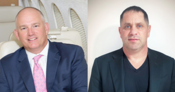 Brian Proctor of Mente Group (left) partnered with Danny White of City+Ventures (right) to form Aquila Aviation Ventures