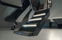 Features of the Cessna Citation CJ4 Gen2 include redesigned entry stairs