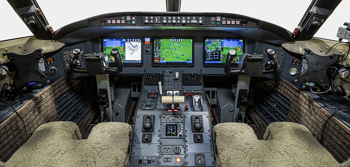 Duncan Aviation's site facility in Battle Creek, Michigan recently installed Pro Line Fusion avionics on a Challenger 604