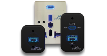 Astronics has unveiled a range of anti-microbial in-seat power systems outlet units