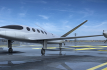 Alice, an all-electric aircraft being developed by Eviation