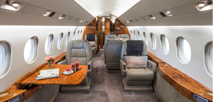 The Dassault Falcon 2000LX