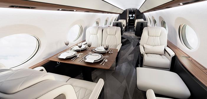 Gulfstream has enhanced the G700 cabin environment