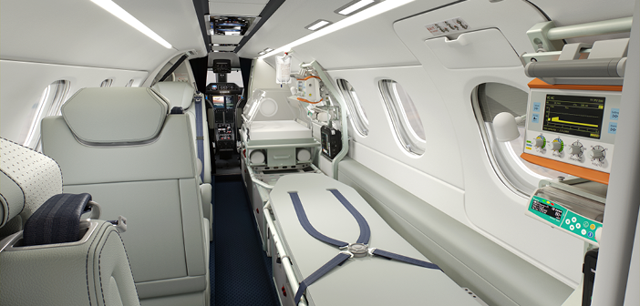 Launch customer signs for Phenom 300MED
