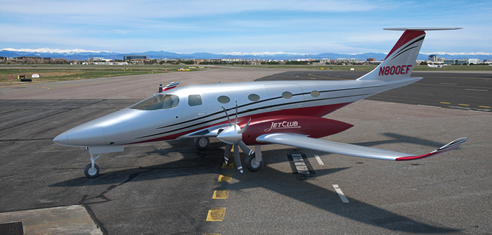 The eFlyer 800 seats up to seven passengers and one or two pilots