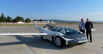Klein Vision's AirCar, a dual-mode car-aircraft vehicle