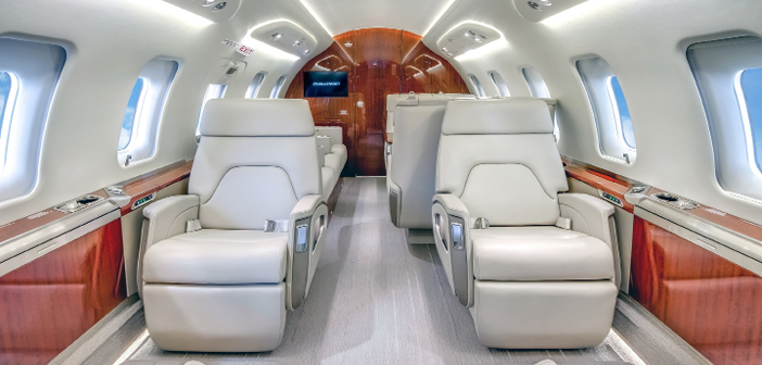 A NetJets Bombardier Challenger