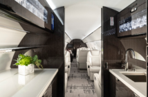 The Gulfstream G600 cabin