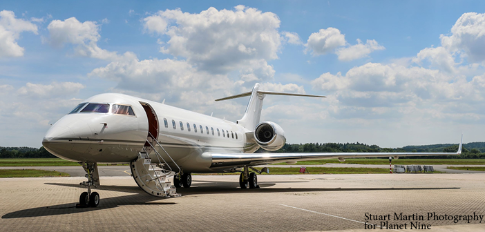 The Global Express is the latest ultra-long-range business jet to join Planet 9