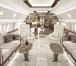 An A320 interior design by AirJet Designs