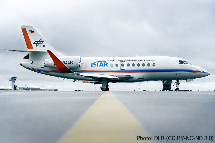 DLR research aircraft ISTAR. Image: DLR (CC BY-NC-ND 3.0)