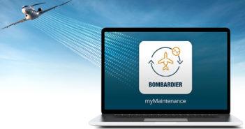 The myMaintenance app complements Bombardier's Smart Link Plus connected aircraft programme