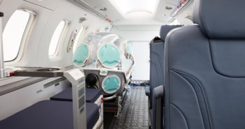 Together with its development partner, Aerolite, Pilatus now offers integration of the EpiShuttle in medevac PC-24s