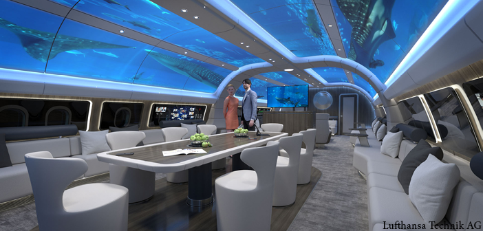 The Explorer design concept by Lufthansa Technik