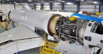Flying Colours regularly conducts heavy inspections on Bombardier Global and Challenger airframes at its bases in Canada and the USA