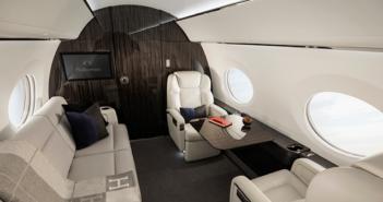 The award-winning Gulfstream G500 interior