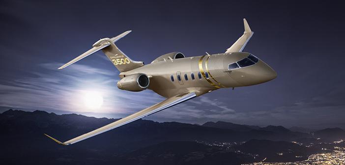 Bombardier unveils super-midsize Challenger 3500