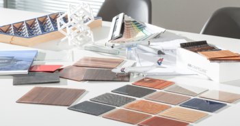 Gentex has acquired a thin-glass laminating technology with various aircraft cabin applications