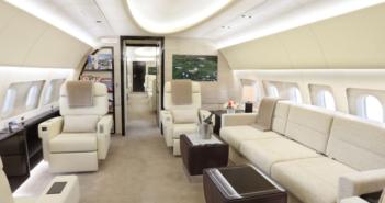 The ACJ319neo from K5-Aviation showcased at NBAA-BACE 2021