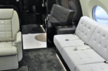 The refurbishment included upgrading a divan with fabric rather than leather